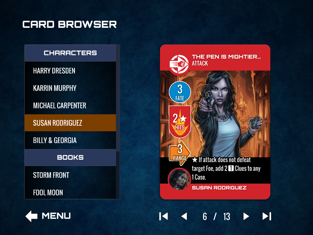 Card Browser Foe Card